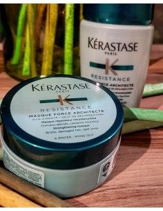 Kerastase travel Bain Satin 2 80 ml + Masquintense 75 ml + pochette omaggio