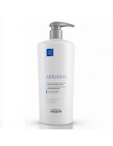 L'Oreal Serioxil shampooing Clarifian & Densifiant Capelli Colorati 1000 ml