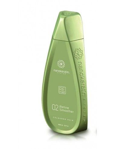 Nanokeratin Refine Smoother liquido stirante per capello colorato 550 ml