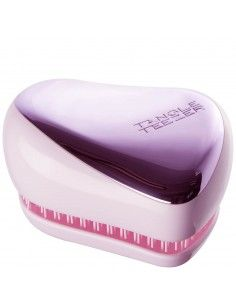Tangle Teezer Compact Styler Detangling Hair Brush Lilac Gleam