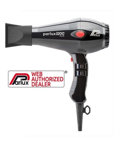Parlux 3200 Plus nero phon asciugacapelli