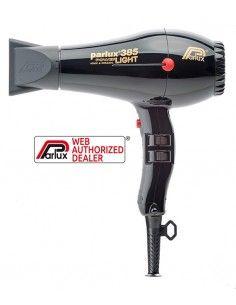 Parlux 385 Powerlight nero phon asciugacapelli