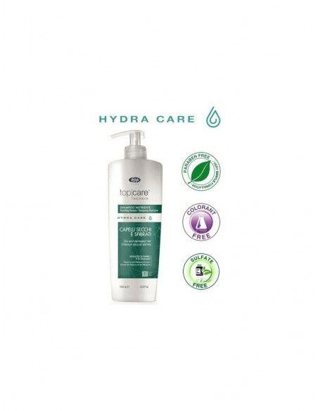 Lisap Shampoo Nutriente Secchi e Sfibrati 1000 ml