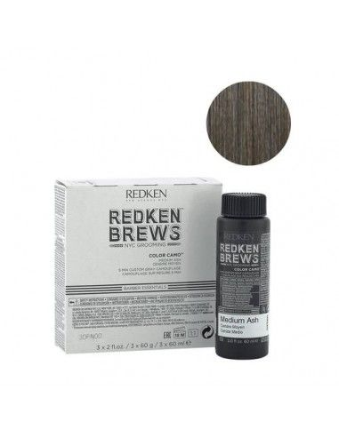 Redken Brews Color Camo medio 3x 60ml