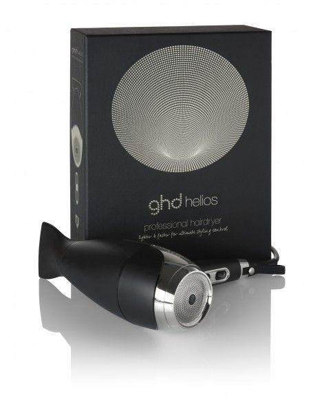 Ghd Phon Helios Nero + Elastico Invisibobble Original Nero x 3 pz