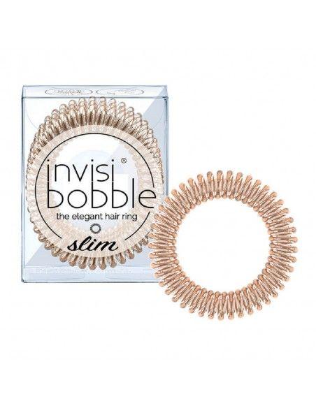 Invisibobble Slim Bronze Me Pretty Tre Elastici