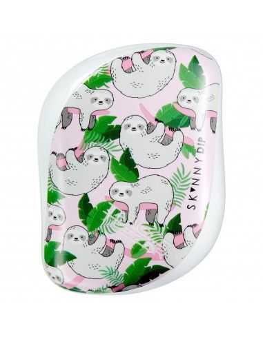 Tangle Teezer Compact Styler So Slow Sloth Spazzola Compatta