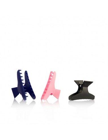 Labor Pinze In Plastica Colorate 12 Pezzi