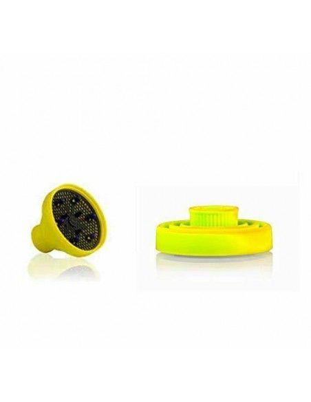 PARLUX   Diffusore Silicone Giallo Universale Salvaspazio Diffusore in siliconea doccia ideale per tutti i tipi di asciugatura
