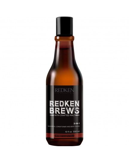 Redken Brews 3 in 1 Shampo 300 ml